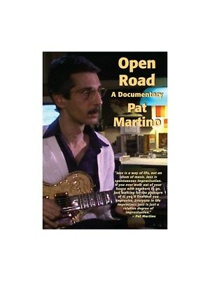 Pat Martino: Open Road - A Documentary. DVD (Region 0)