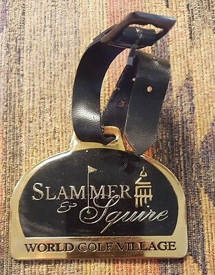 Slammer & Squire World Golf Village Metal Bag Tag - Honours Golf St Augustine