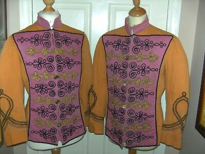 Mens Theatrical Hussar Jackets X2 Costume By Bermans Theatre Show Stage Top