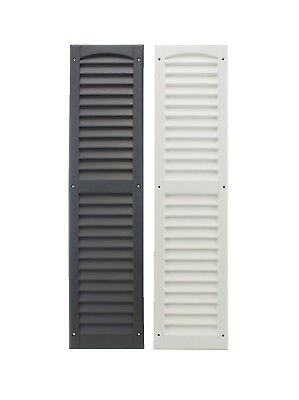 """Shed Shutters 9"""" x 36"""" One Pair 2 Colors Playhouse Storage Sheds Garages Coops"""