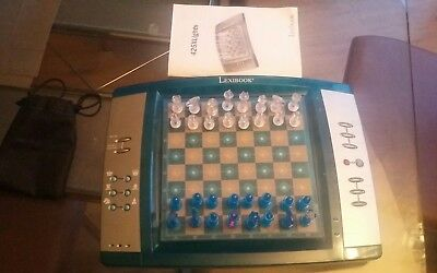 Lexibook Electronic Chess Board Game. Complete & Working