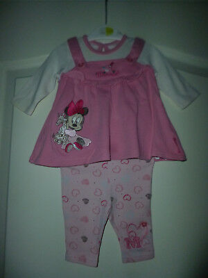"""Disney at George zauberhaftes 2tlg Outfit """"Baby Minnie Mouse"""" Gr: First Size"""