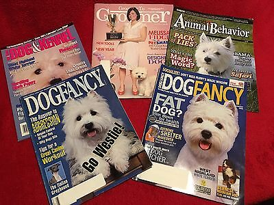 WEST HIGHLAND WHITE TERRIER WESTIE Issue  - Lot of Magazines