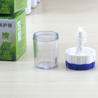 Storage Eyewear Accessories Container Eyes Cleaner Manually Case Cleaning