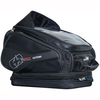 Motorcycle Oxford Q30R Lifetime Tank Bag Quick Release 30 Litres WP - All Colour