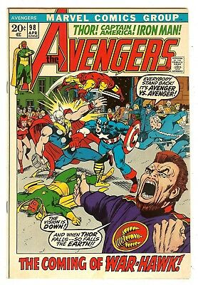 Avengers 98   Barry Smith cover & art