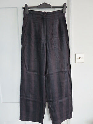 Vintage high waisted flared John Rocha trousers mid 1980's size 10