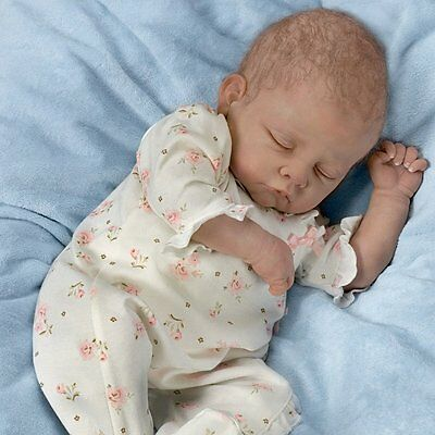 Ashton Drake SOPHIA EVERY MOMENT IS PRECIOUS breathing baby doll by Linda Murray