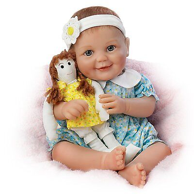 Ashton Drake - MY DOLLY, MY BEST FRIEND baby doll by Cheryl Hill