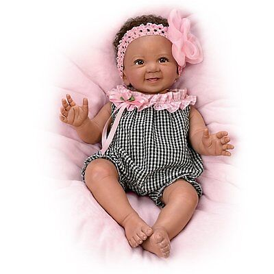 Ashton Drake ALANNA Baby Doll by Ping Lau - Third Annual Photo Contest Winner