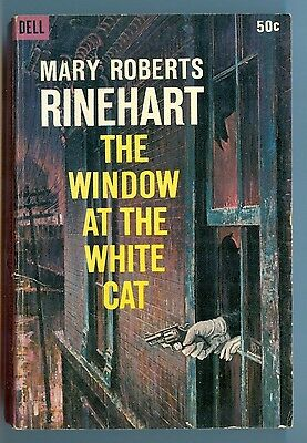 The Window at the White Cat, by Mary Roberts Rinehart - Dell PB - 1965