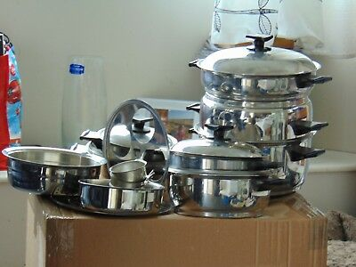 Rena Ware 20 piece/element saucepan / cooking set Amazing set!