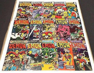 The Demon Issues #1-5, 7-16 Lot/Set/Collection DC Comics 1st Appearance Etrigan