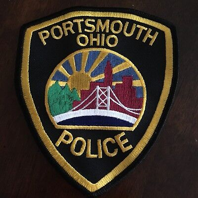 Portsmouth Police Patch Ohio