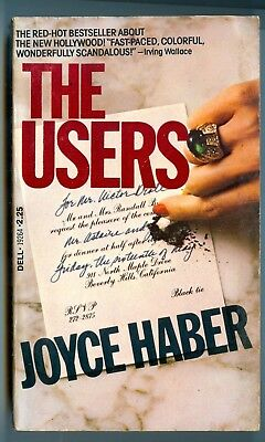 The Users, by Joyce Haber - Dell PB - 1977