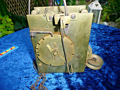 Antique Grandfather / Longcase Clock Movement  , Spares Repairs Overhaul