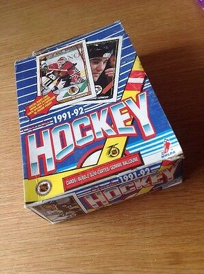 Unopened Box 1991-2 O PEE CHEE NHL Ice Hockey Trading Cards USA Imports