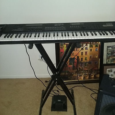 ROLAND JV1000 music workstation. Used good condition. Rare find here.