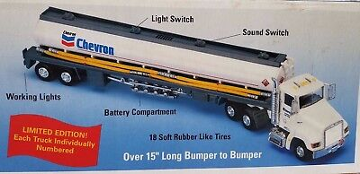 """Chevron 1998 Limited Edition Toy Tanker"" Lights & Sounds"