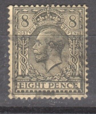 UK-GREAT BRITAIN-1912/1922-EDWARD VII- 8 P.- RED & GREEN-Y&T nr.149 -used stamp