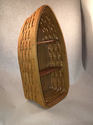 Longaberger row your boat basket-pre owned-Signed SAW 2005