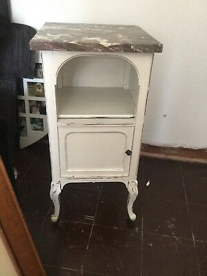 antique cabinet with mable top