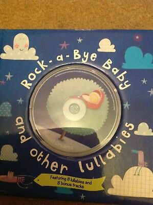Rock A Bye Baby book with lullabies cd