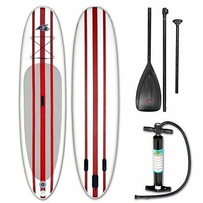"F2 SUP Basic Ride PRO 10`0"" Komplett Set rot Paddleboard red 2018 UVP 899€ NEU"