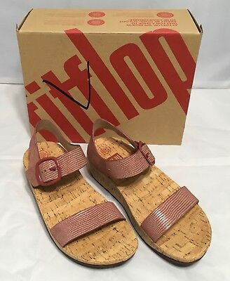 267a63ca27d12e FITFLOP WOMEN S SHOES BON Lizard Print Sandals Spice Size 7 9 10 NIB ...