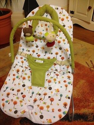 Mamas and Papas baby bouncing chair with soothing vibration