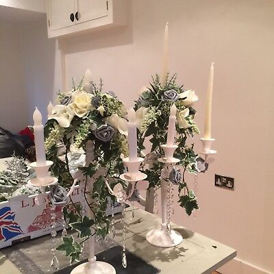 Flower Candelabra Table Centres