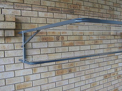 CLOTHESLINE MAXIMUM FOLD DOWN WALL MOUNTED CLOTHES LINE 3000mm x 1200mm acm