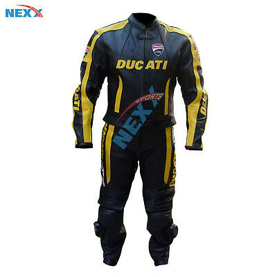 DUCATI  Motorbike  Leather Suit Motorcycle  Leather Suit Racing suit Riding Suit