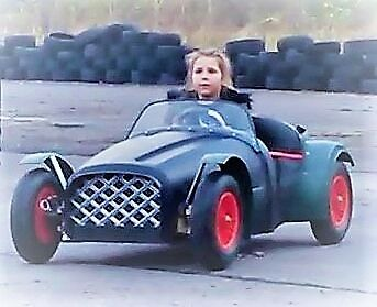 THE EKO 'SAFETY RACER'! build a RACING CAR FOR KIDS 5-10yrs. SEE VIDEO HERE  >>