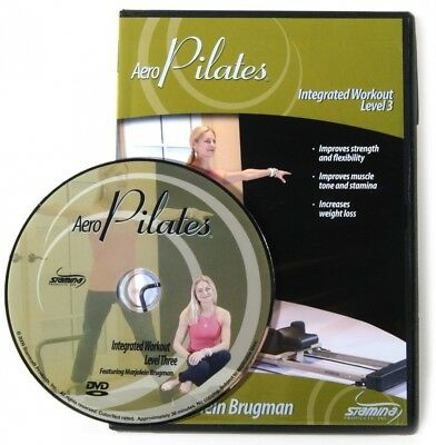 Stamina Level 7.6cm tegrated AeroPilates DVD. Shipping is Free