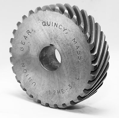 """NEW Union Gear H1230L or 12-HE-30-LH Helical  0.75 """" Bore 12 Pitch 30 Teeth"""