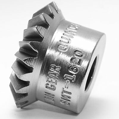 """NEW Union Gear  SMT-1620 Miter  0.438"""" Bore 16 Pitch 20 Teeth"""