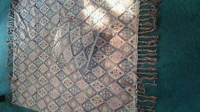Beautiful Pier 1 Imports Large Pillow & Throw Made In India