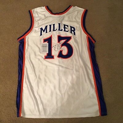 Mike Miller Authentic Signed Autographed Florida Gators Basketball Jersey Coa