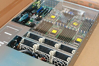 SUPERMICRO 64 CORE 2U 2.5GHz/256GB AMD OPTERON 6380 2042G-TRF G34 SERVER