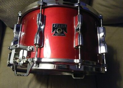 Vintage Tama Superstar 14x8 snare in Candy Apple Red RARE