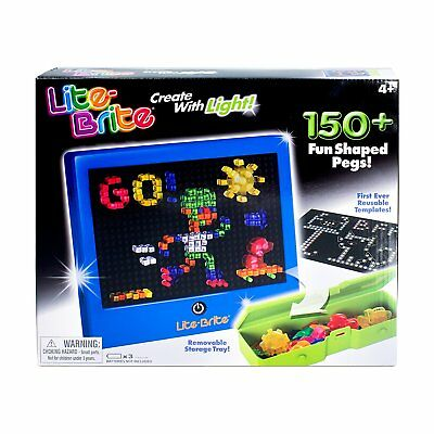 Electronic Screen Peg Art Lite Brite Magic Lovers with Light Kids Toys Games