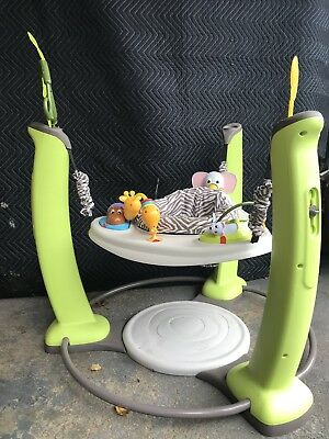 Evenflo ExerSaucer Jump and Learn Jumper Jungle Quest Baby Jumperoo Bouncer