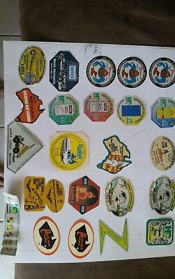 Coal mining stickers