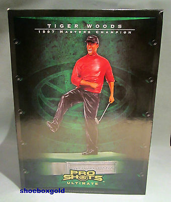 TIGER WOODS, Upper Deck Ultimate Pro Shots Figurine, 1997 Masters Champion