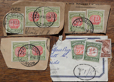 SA Duty stamps, 9 in total