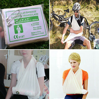 1 Roll Non Woven Triangular Disposable Bandage Arm Sling First Aid Medical Tape