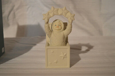 "Dept. 56 Snowbabies ""A STAR IN THE BOX"" NIB WINTER TALES FIGURINE COLLECTIBLE"