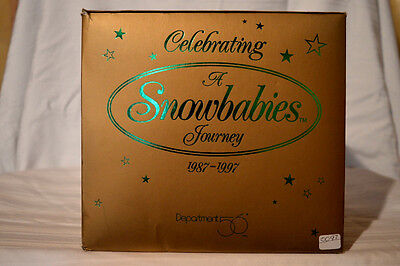 "Dept. 56 SNOWBABIES ""LETS' GO SEE JACK FROST"" NIB LIMITED EDITION 1987-1997 MINT"