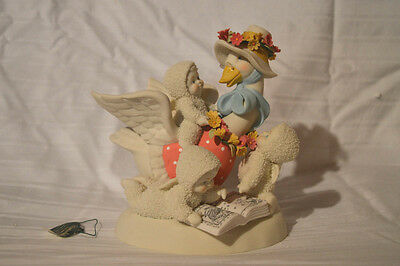 "Department 56 Snowbabies ""TELL ME A STORY MOTHER GOOSE"" 2003 NIB! FIGURINE"